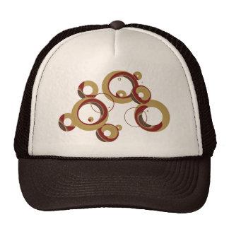 Modern Bubbles Trucker Hat - Beige
