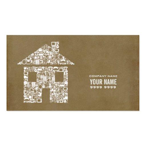 Modern Builder Construction Template Business Card