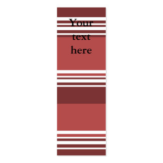 Modern burgundy and white stripes business card templates