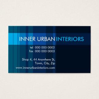 MODERN BUSINESS CARD :: modish stripe 5L