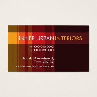 MODERN BUSINESS CARD :: modish stripe 6L