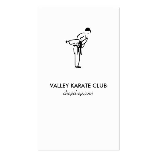 Modern Business Card No. 71 | Karate