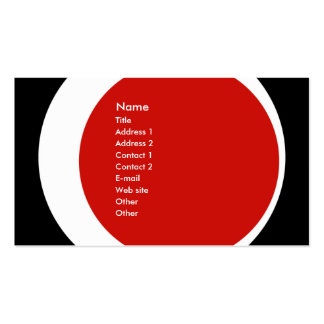 Modern Business/Social Networking Profile Card Pack Of Standard Business Cards