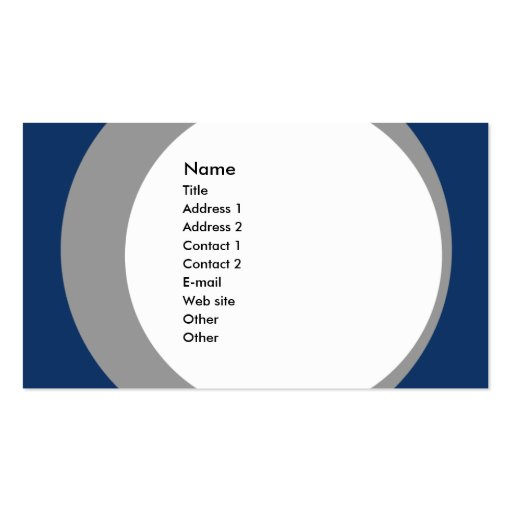 Modern Business/Social Networking Profile Card Business Cards