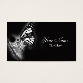 Modern Butterfly Business Card
