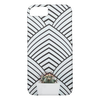 modern cactus iPhone case