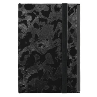 Modern Camo -Black and Dark Grey- camouflage iPad Mini Case