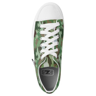 Modern Camo Comfort Low Top Shoes Printed Shoes