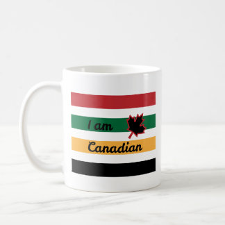Modern Canadian Blanket (English) Mug