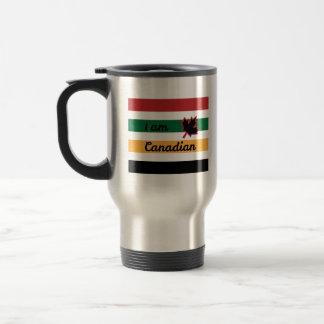 Modern Canadian Blanket (English) Stainless Travel Travel Mug