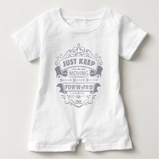 Modern Chalkboard Flourish, motivational Baby Tshirt