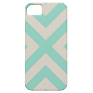 Modern Chevron Stripe Barely There iPhone 5 Case
