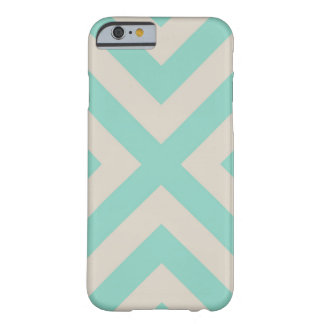 Modern Chevron Stripe Barely There iPhone 6 Case