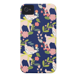 Modern chic baby deer Case-Mate iPhone 4 case