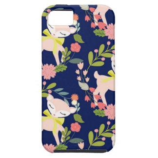 Modern chic baby deer iPhone 5 case