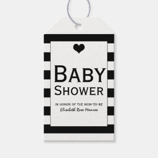 Modern Chic Black & White Baby Shower