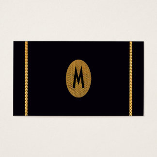 Modern Chic Initial Save the Date Gold Elegant