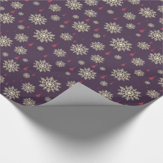 Modern Christmas Colours Wrapping Paper