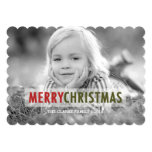 MODERN CHRISTMAS | HOLIDAY PHOTO CARD PERSONALISED ANNOUNCEMENT