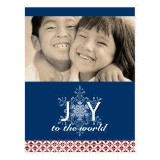 Modern Christmas Photo Postcards