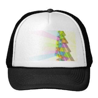 Modern Christmas tree concept Trucker Hats