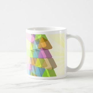 Modern Christmas tree concept Coffee Mugs