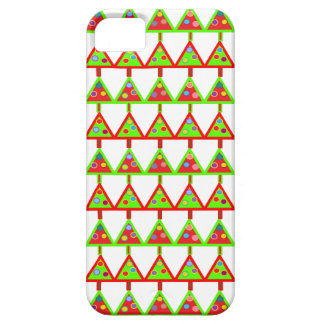Modern Christmas Trees Pattern Case For The iPhone 5