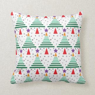 Modern Christmas Trees Pattern Cushions