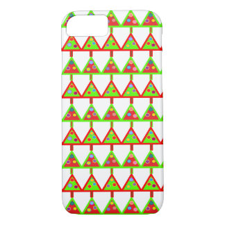 Modern Christmas Trees Pattern iPhone 7 Case