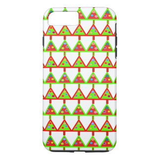 Modern Christmas Trees Pattern iPhone 7 Plus Case