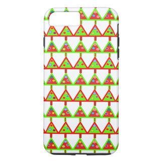 Modern Christmas Trees Pattern iPhone 7 Plus Case