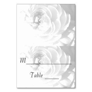 Modern Chrysanthemum/Peony - Escort Card