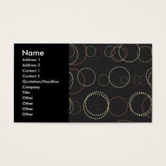 Modern Circles #2 Business Card