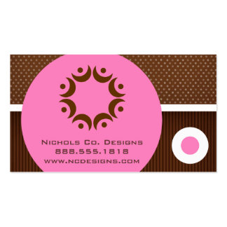 Modern Circles Business Cards