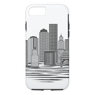 Modern City Skyline iPhone 7 Case