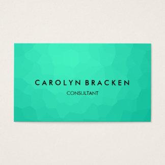 Modern Classy Blue Elegant Business Card