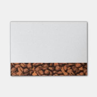 Modern Coffee Bean Post-it Notes