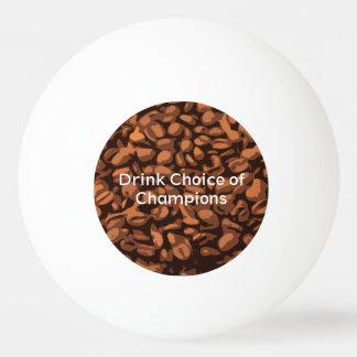 Modern Coffee Beans Custom Ping Pong Ball