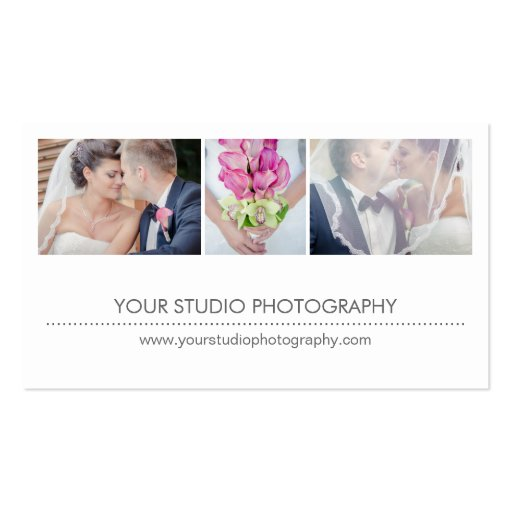 Modern Collage Business Card Business Card