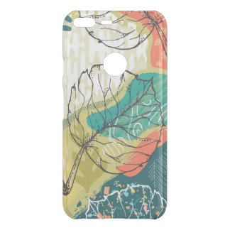 Modern Colorful Abstract Collage 2 Uncommon Google Pixel XL Case