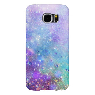 Modern Colorful Abstract Deep Space Background Samsung Galaxy S6 Cases