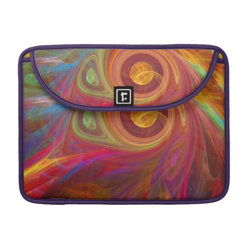 Modern Colorful Abstract MacBook Pro Sleeves