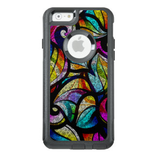 Modern Colorful Abstract Swirls OtterBox iPhone 6/6s Case