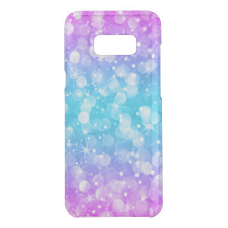 Modern Colorful Bokeh Glitter Uncommon Samsung Galaxy S8 Plus Case