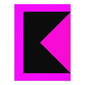 Modern Colorful Bold Clean Design Color Invitation