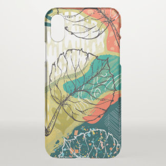 Modern Colorful Collage iPhone X Case