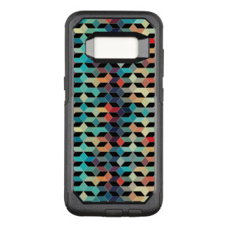 Modern Colorful Cubes Pattern OtterBox Commuter Samsung Galaxy S8 Case