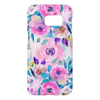 Modern Colorful Flowers Collage Design GR4