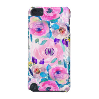 Modern Colorful Flowers Collage GR8 iPod Touch (5th Generation) Cover