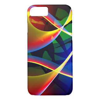Modern colorful Fractal Art iPhone 7 Case